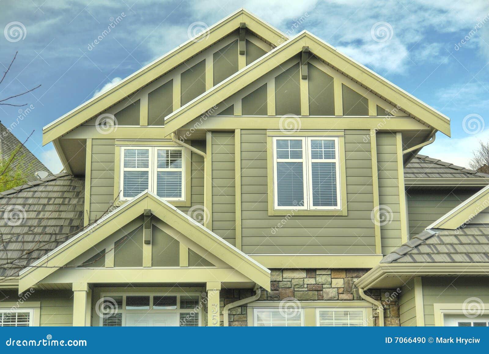 De nieuwe Buitenkant van het Huis van het Huis