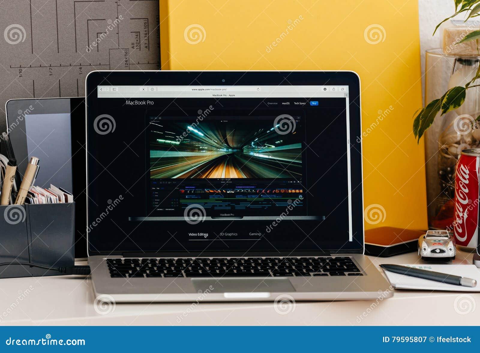De nieuwe MacBook Pro-retina met def. van de aanrakingsbar sneed pro