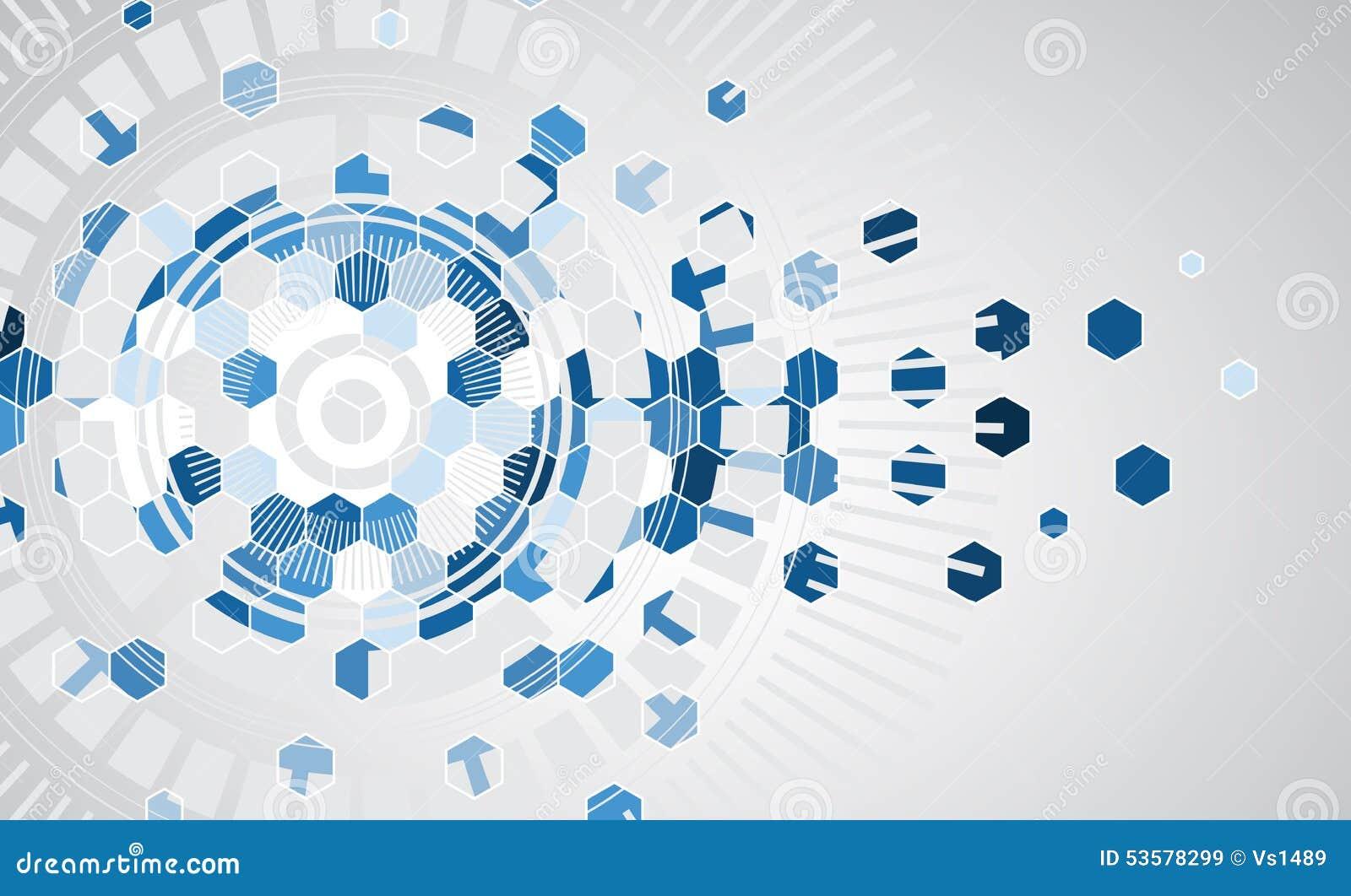 De nieuwe toekomstige abstracte achtergrond van het technologieconcept