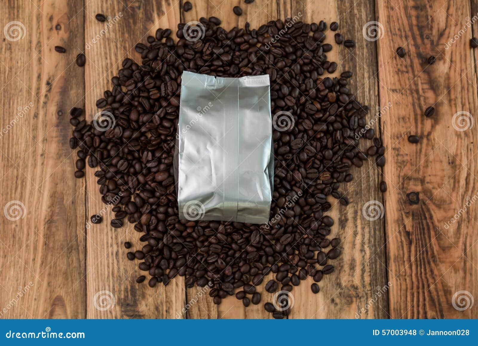 De nieuwe zak van de koffiefolie