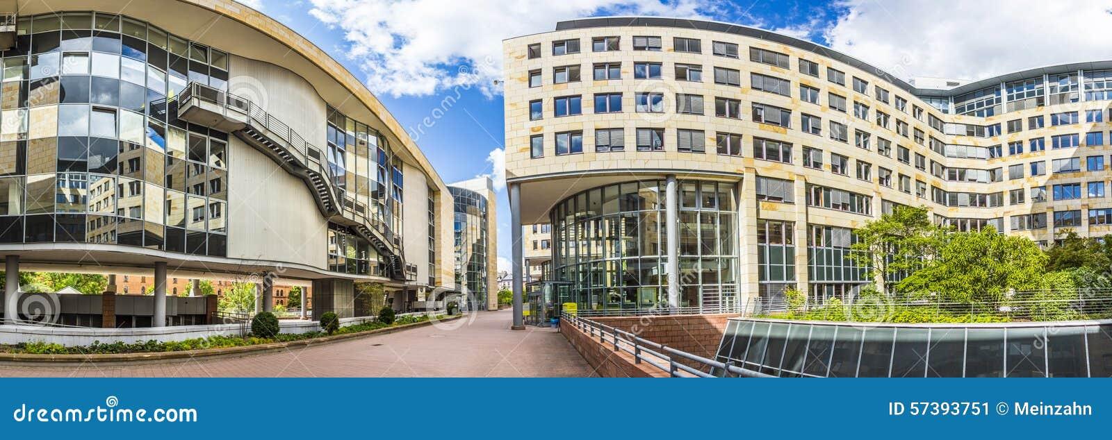 De nieuwe zetel van Landesarbeitsgericht Hesse