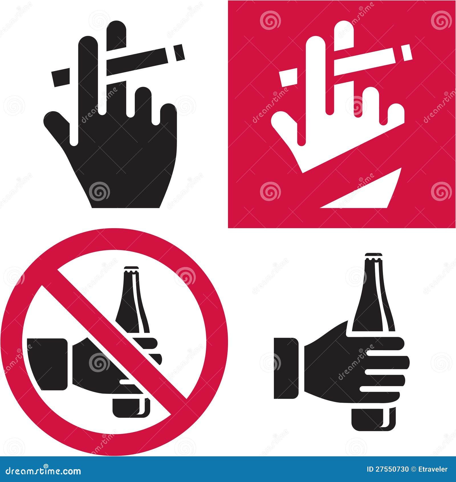 De no fumadores. Ningún alcohol.
