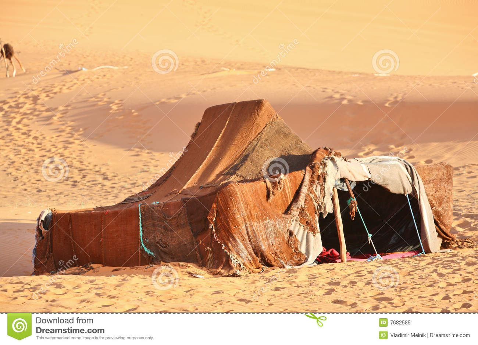 De nomade (Berber) tent