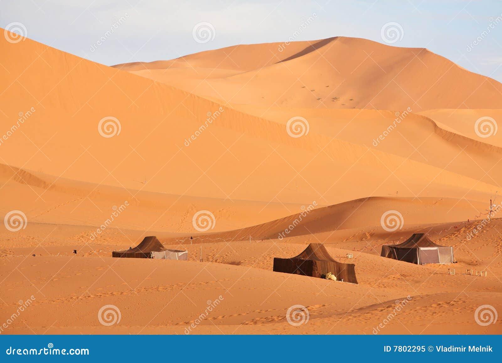 De nomade (Berber) tenten