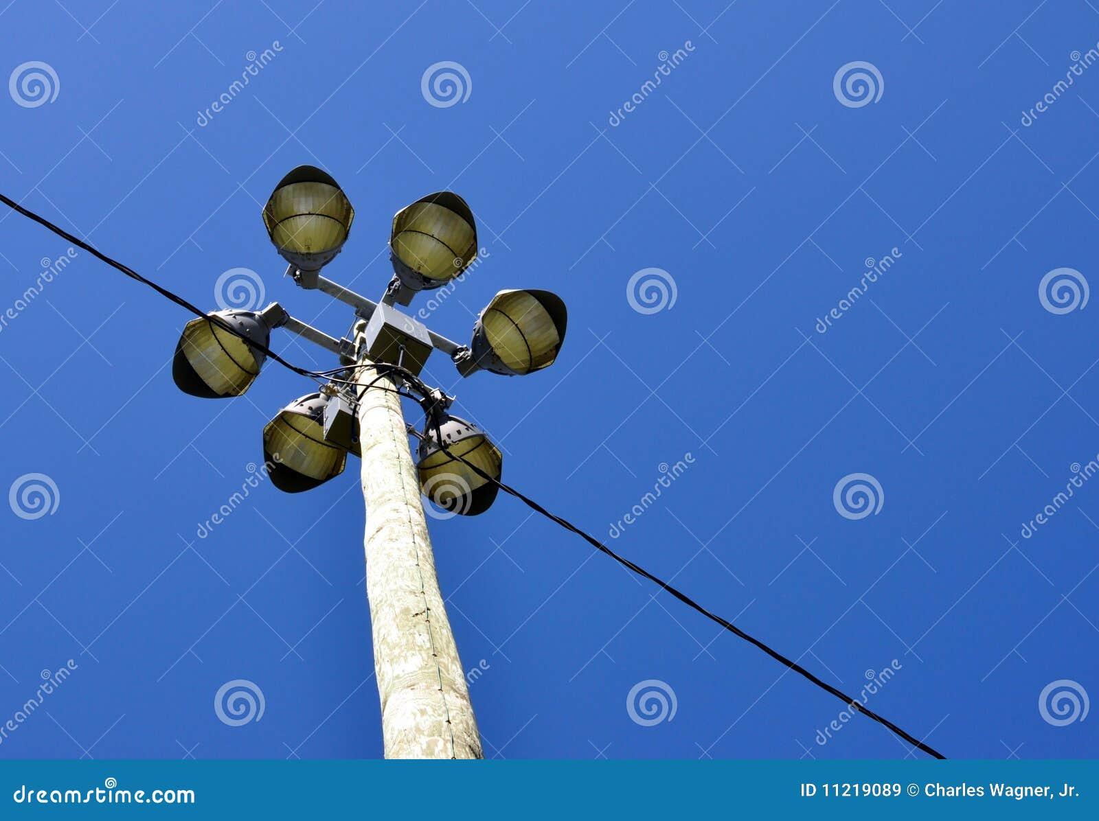 download de norm van de verlichting van het stadion stock afbeelding afbeelding bestaande uit floodlights