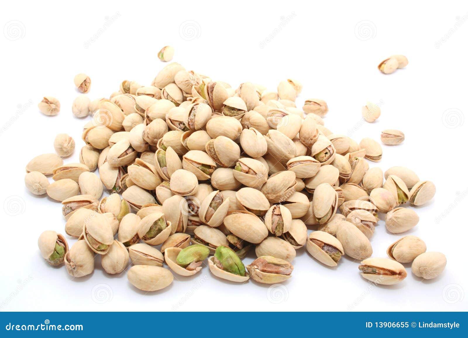 De noten van pistaches