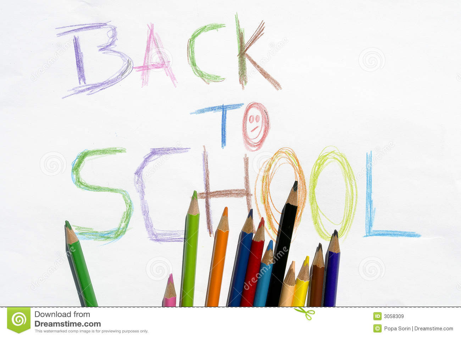 De nouveau à l école