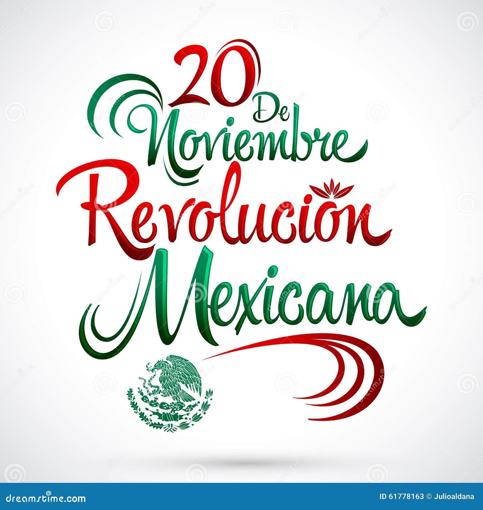 20 de Noviembre Revolucion Mexicana - 20 de novembro os espanhóis da revolução mexicana text