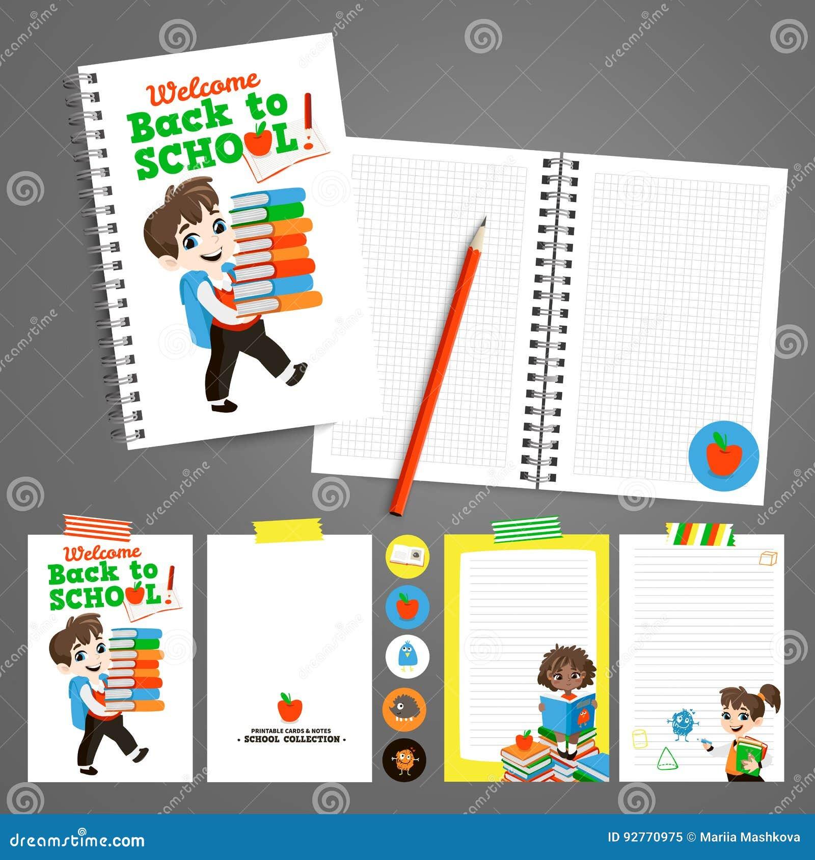 De Nuevo A Sistema Imprimible De La Escuela Con Los Alumnos ...
