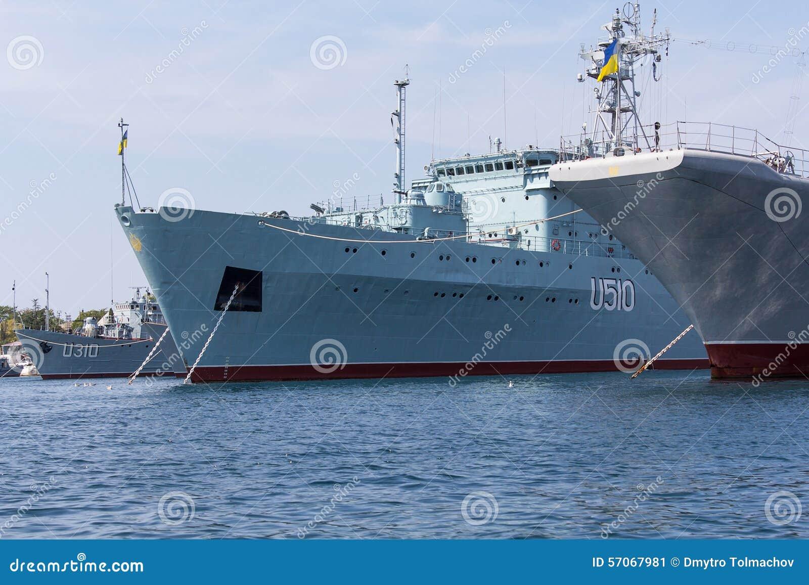 De Oekraïne, Sebastopol - September 02, 2011: Hof Oekraïense Marine