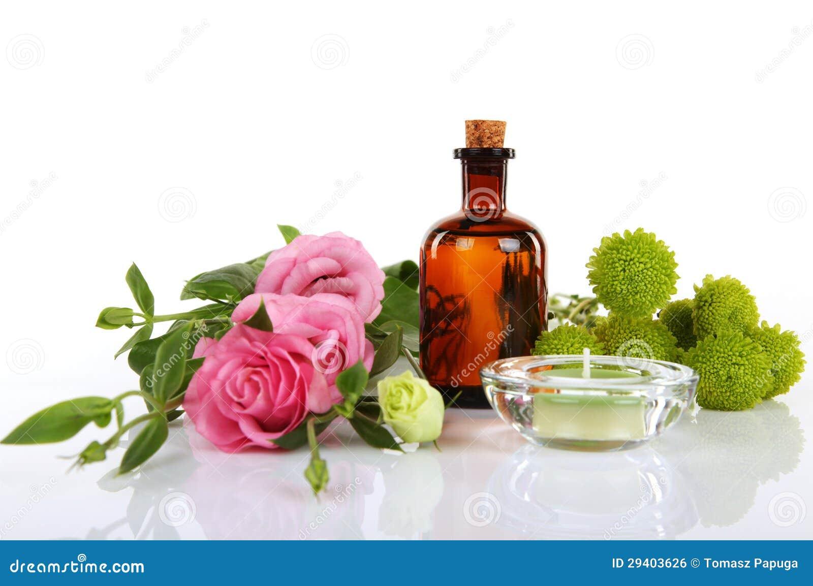 De Olie van Aromatherapy en van de Massage
