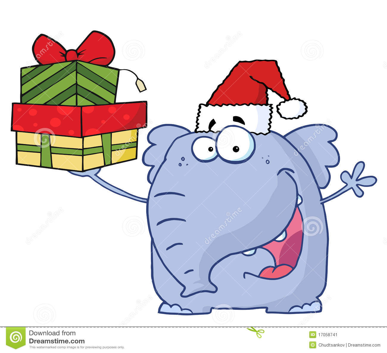 white elephant gift clipart free - photo #44