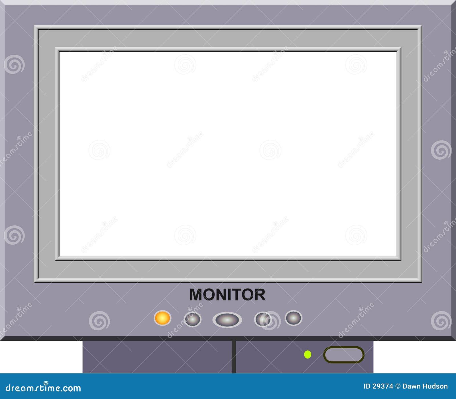 De Omlijsting van de monitor