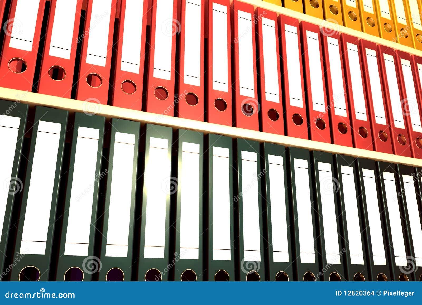 De omslagen van het archief