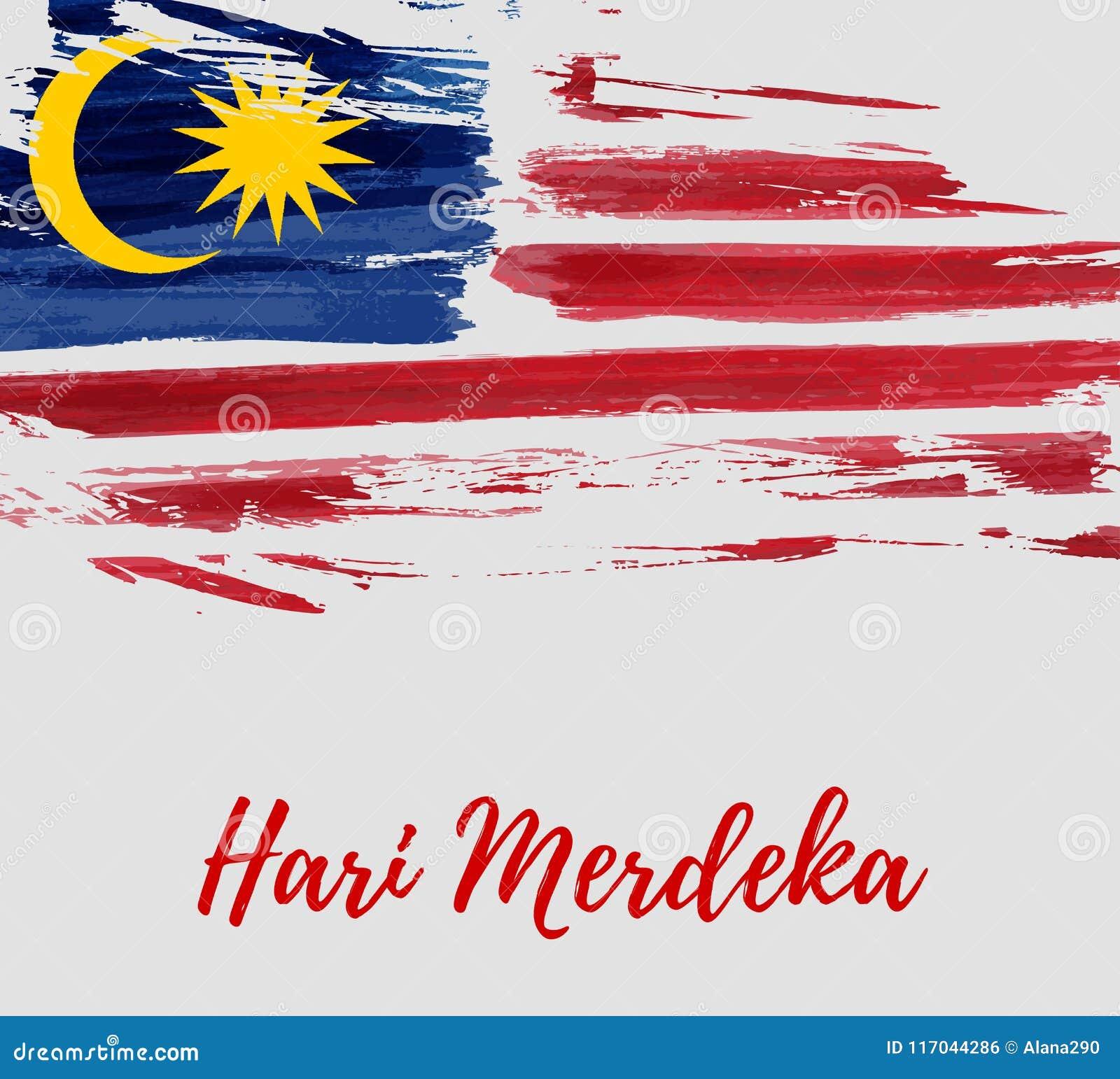 De Onafhankelijkheidsdag van Maleisië - Hari Merdeka-vakantie