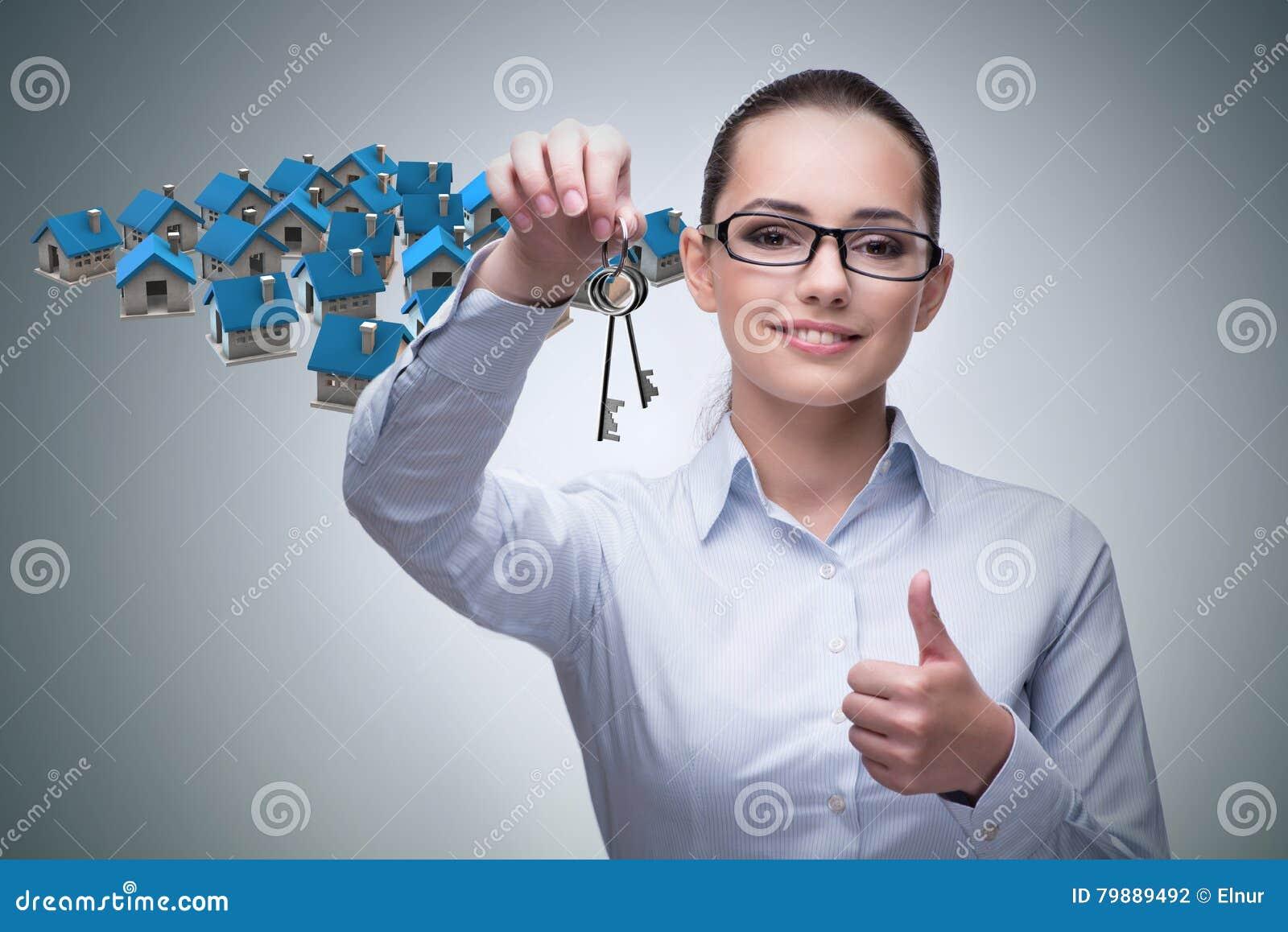 De onderneemster in het concept van de onroerende goederenhypotheek