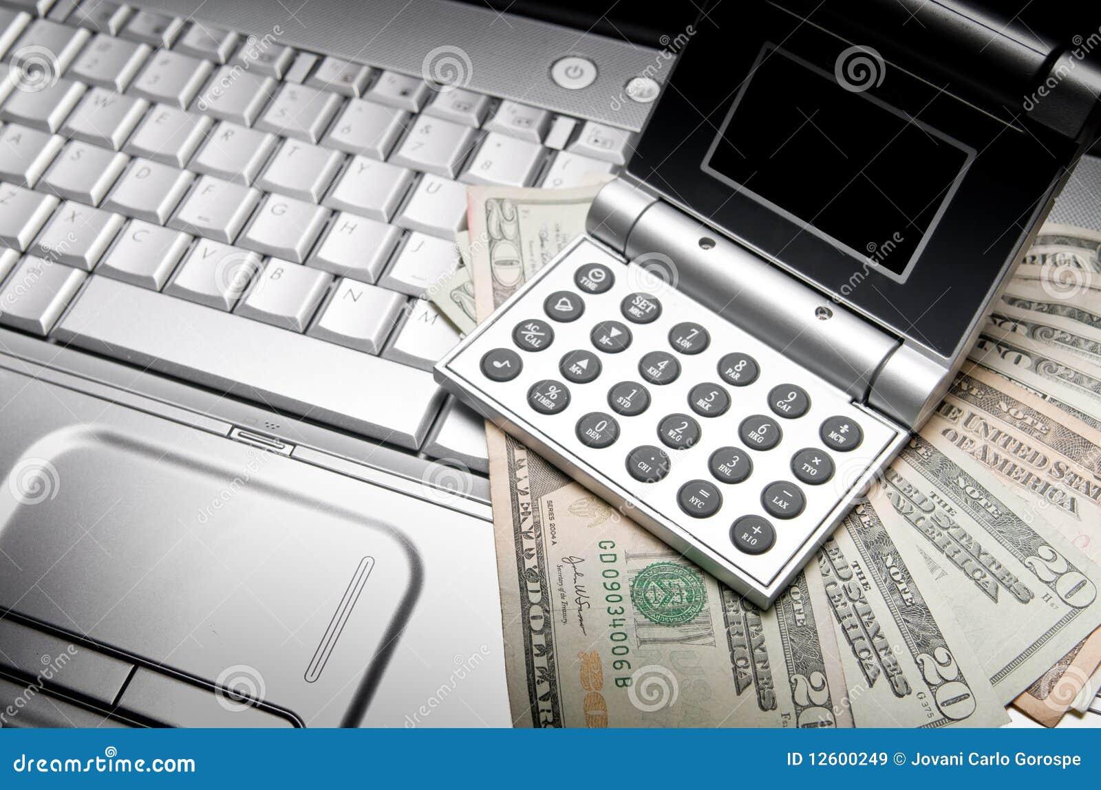 De online Financiën van het Bankwezen