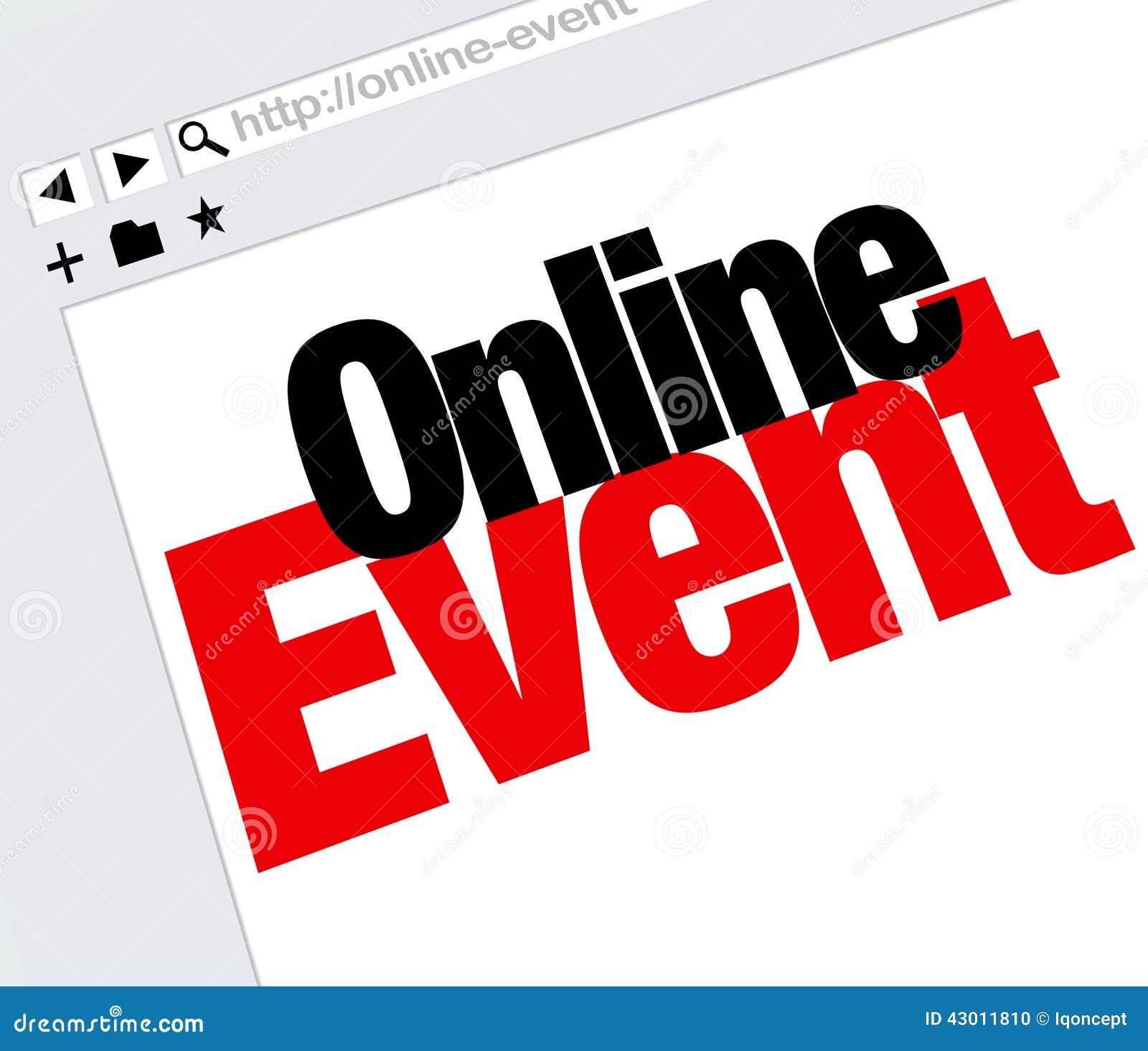 De online van de Woordeninternet van de Gebeurteniswebsite Digitale Vergadering toont