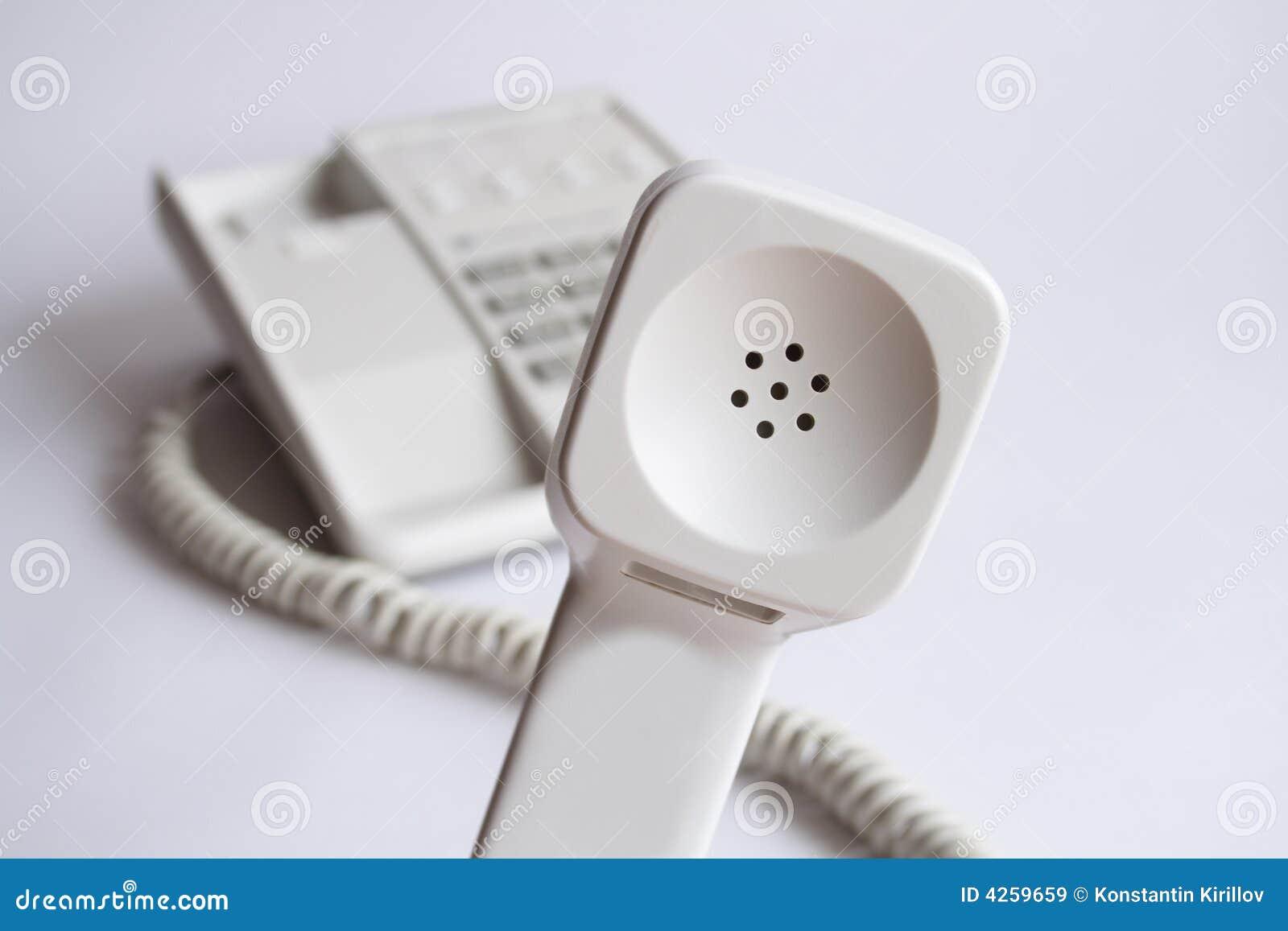 De Ontvanger van de telefoon