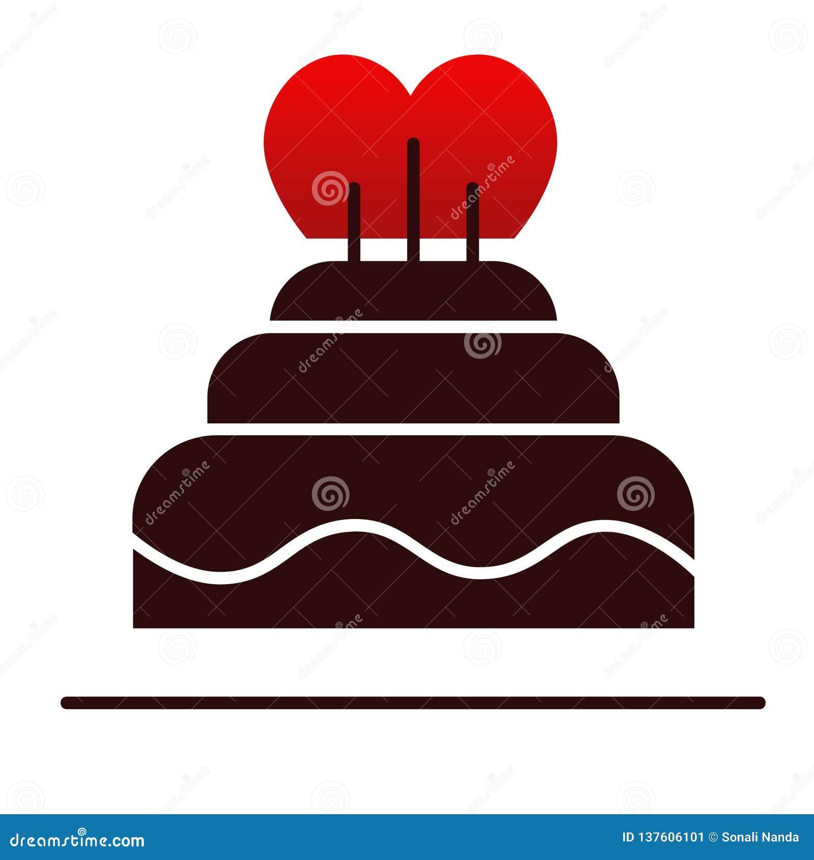 De ontzagwekkende Cake van de valentijnskaartdag