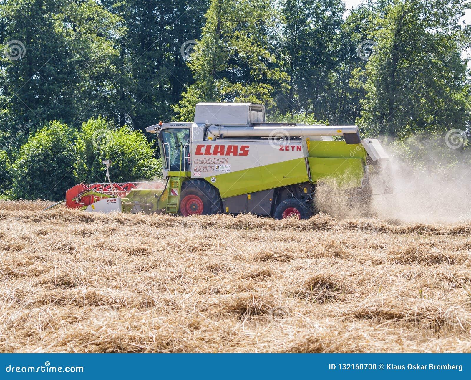 De oogstmachine