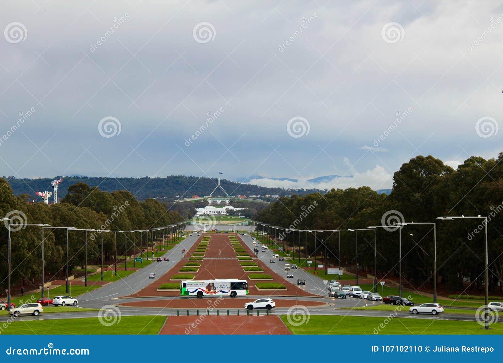 De oorlogsgedenkteken van Canberra - Hoofdstad van Australië