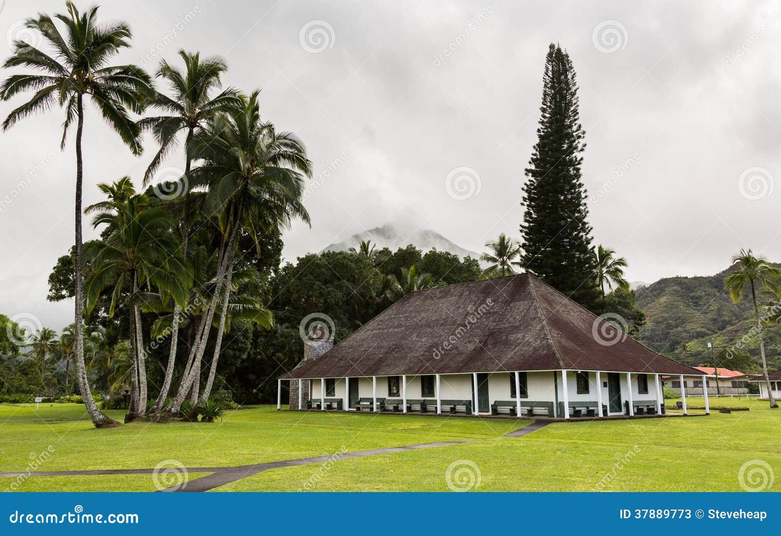 De Opdrachtzaal van Waiolihuiia in Hanalei Kauai