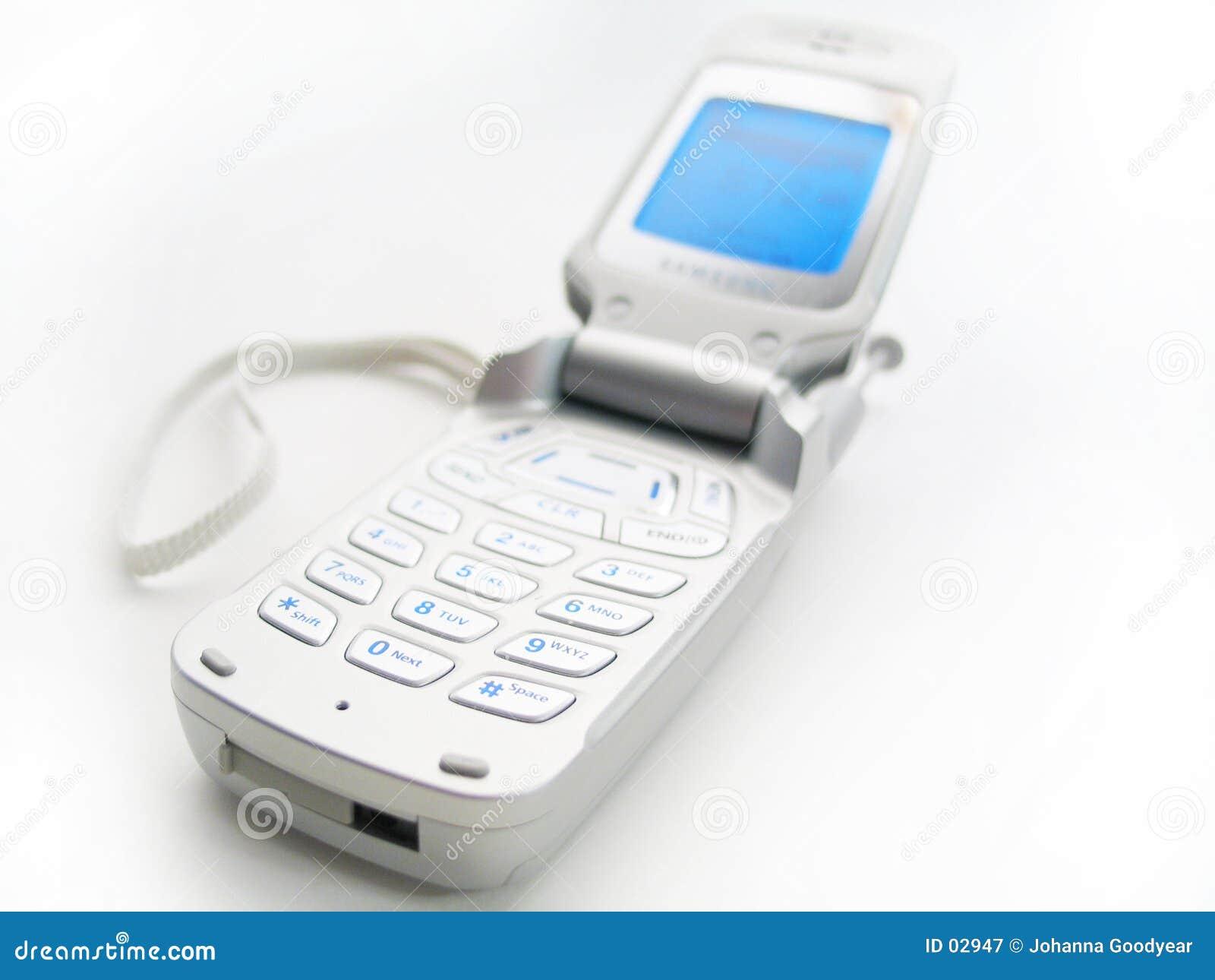 De open Telefoon van de Cel