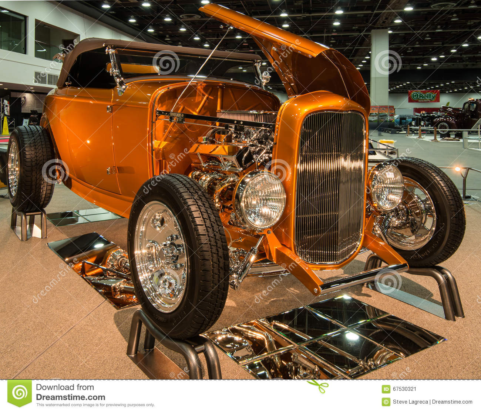 1932 de Open tweepersoonsauto van de Doorwaadbare plaats