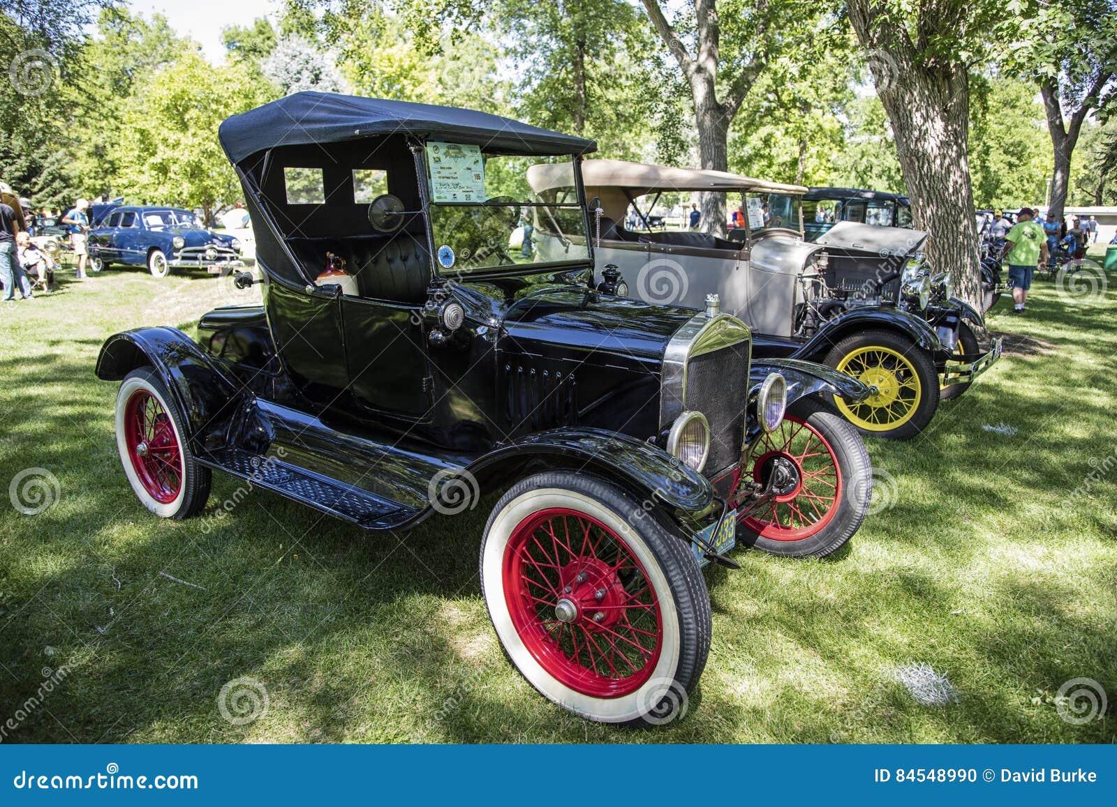 1925 de Open tweepersoonsautoantiquiteit van Ford Model T