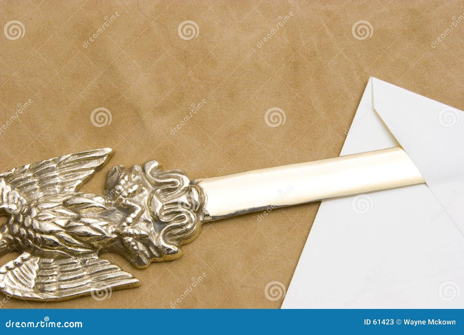De opener van de brief