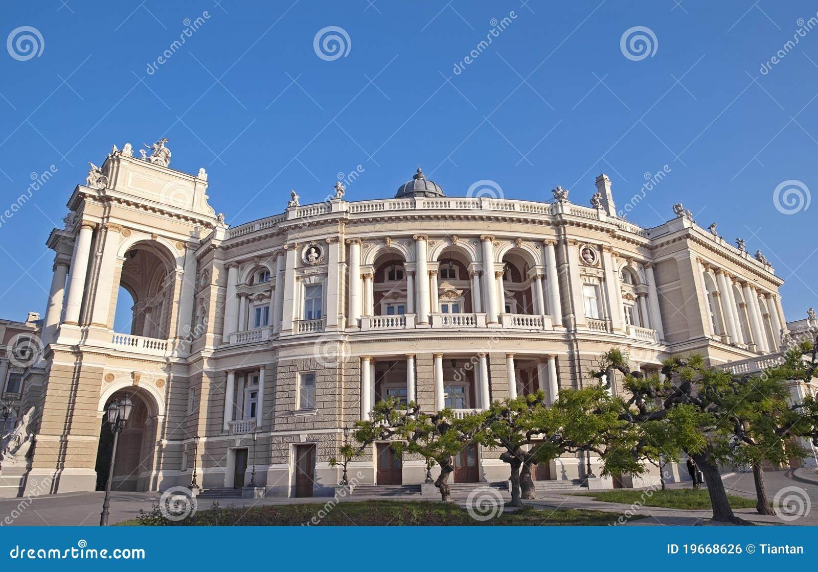De opera van Odessa