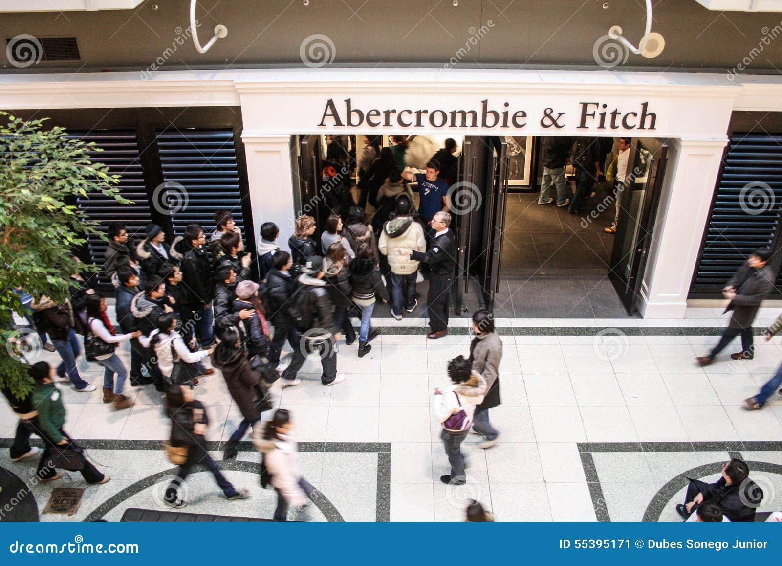 De opslag van Abercrombiefitch