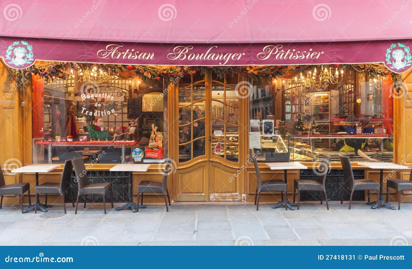 De opslag van de bakkerij redactionele foto afbeelding bestaande uit parijs 27418131 - Opslag terras ...