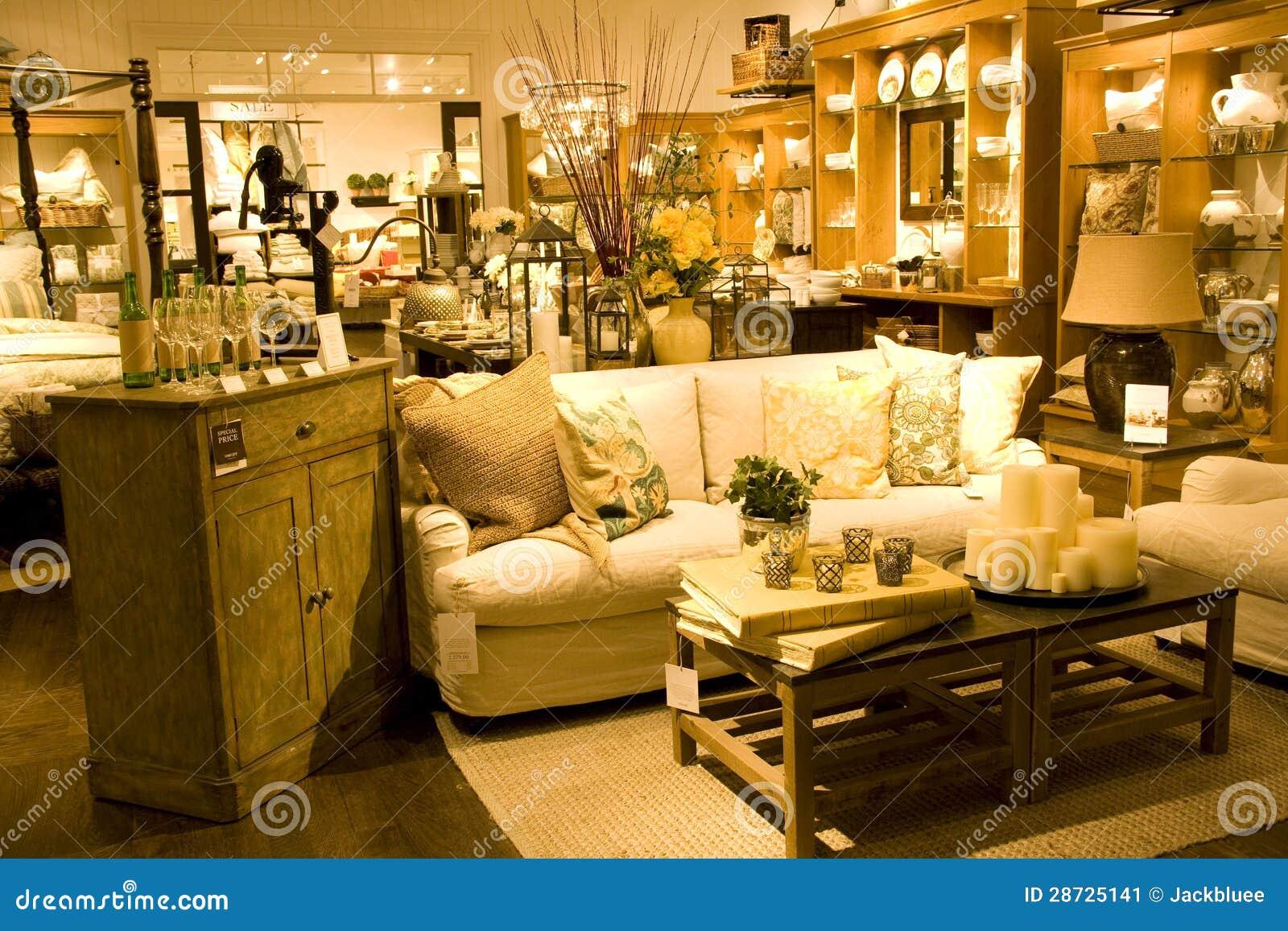 De opslag van het meubilair