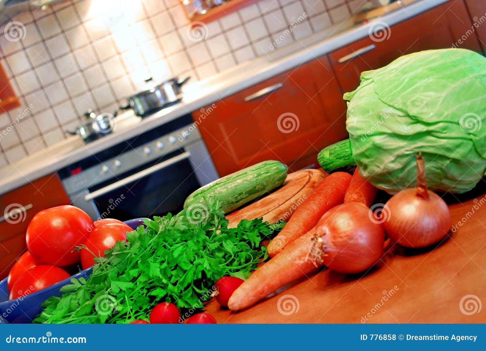 De opstelling van de keuken