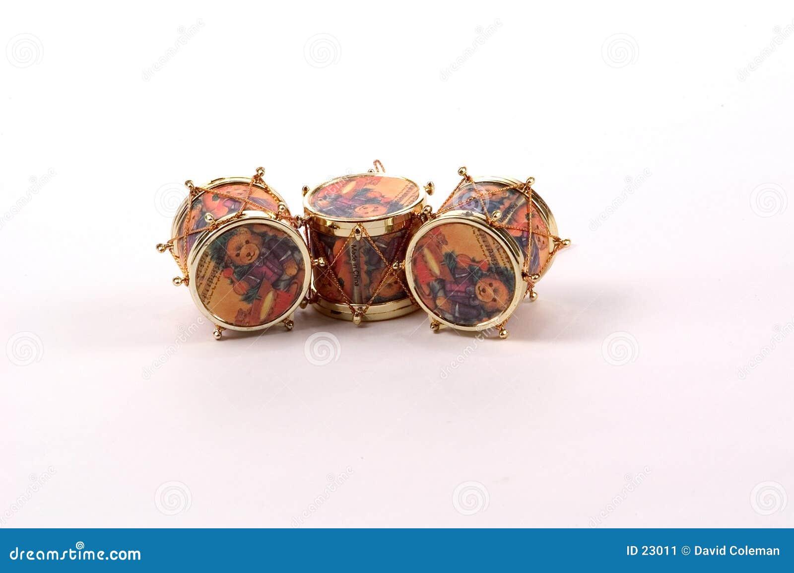 De Ornamenten van de trommel