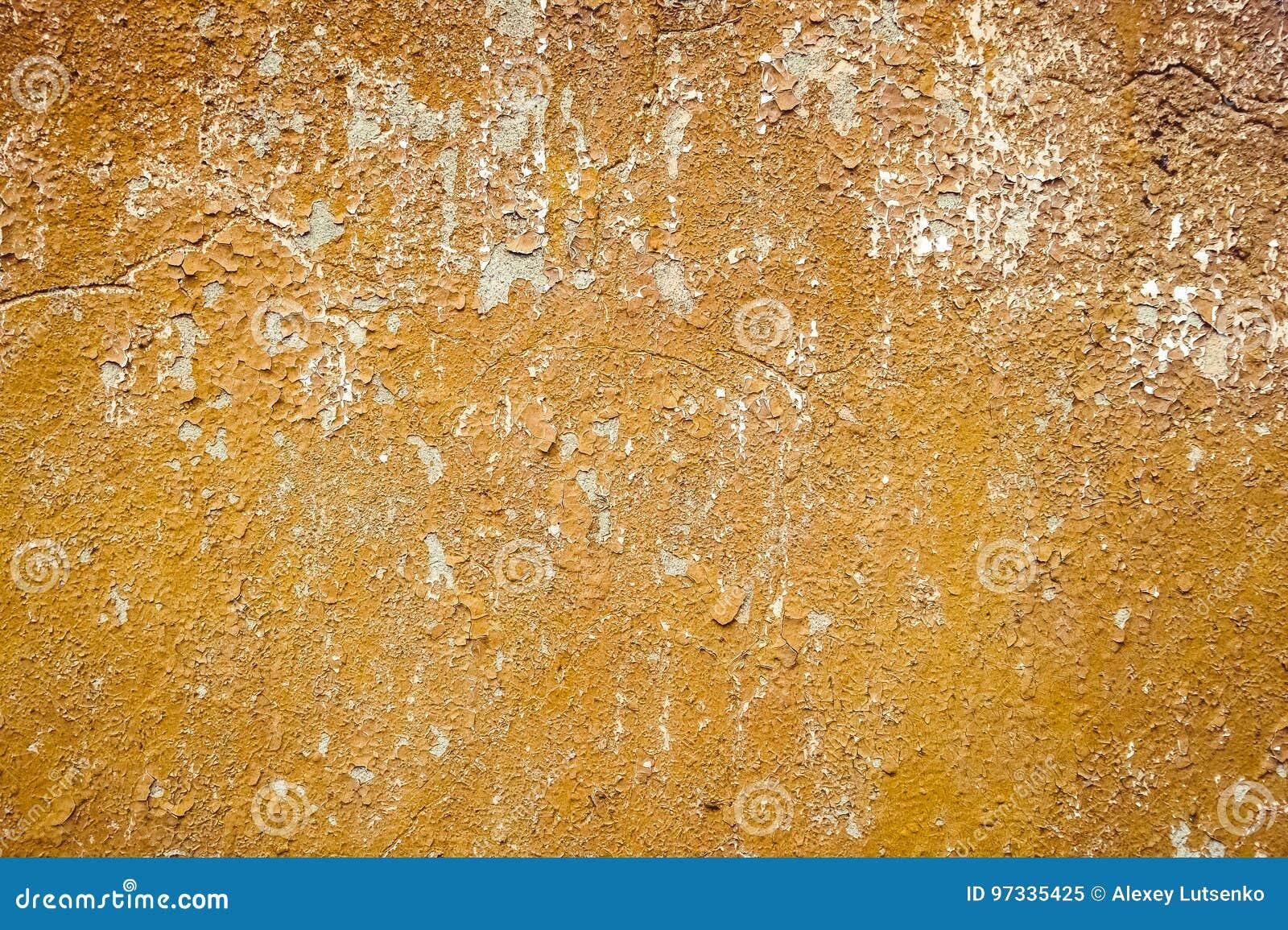 De oude achtergronden van muur grunge texturen met barsten