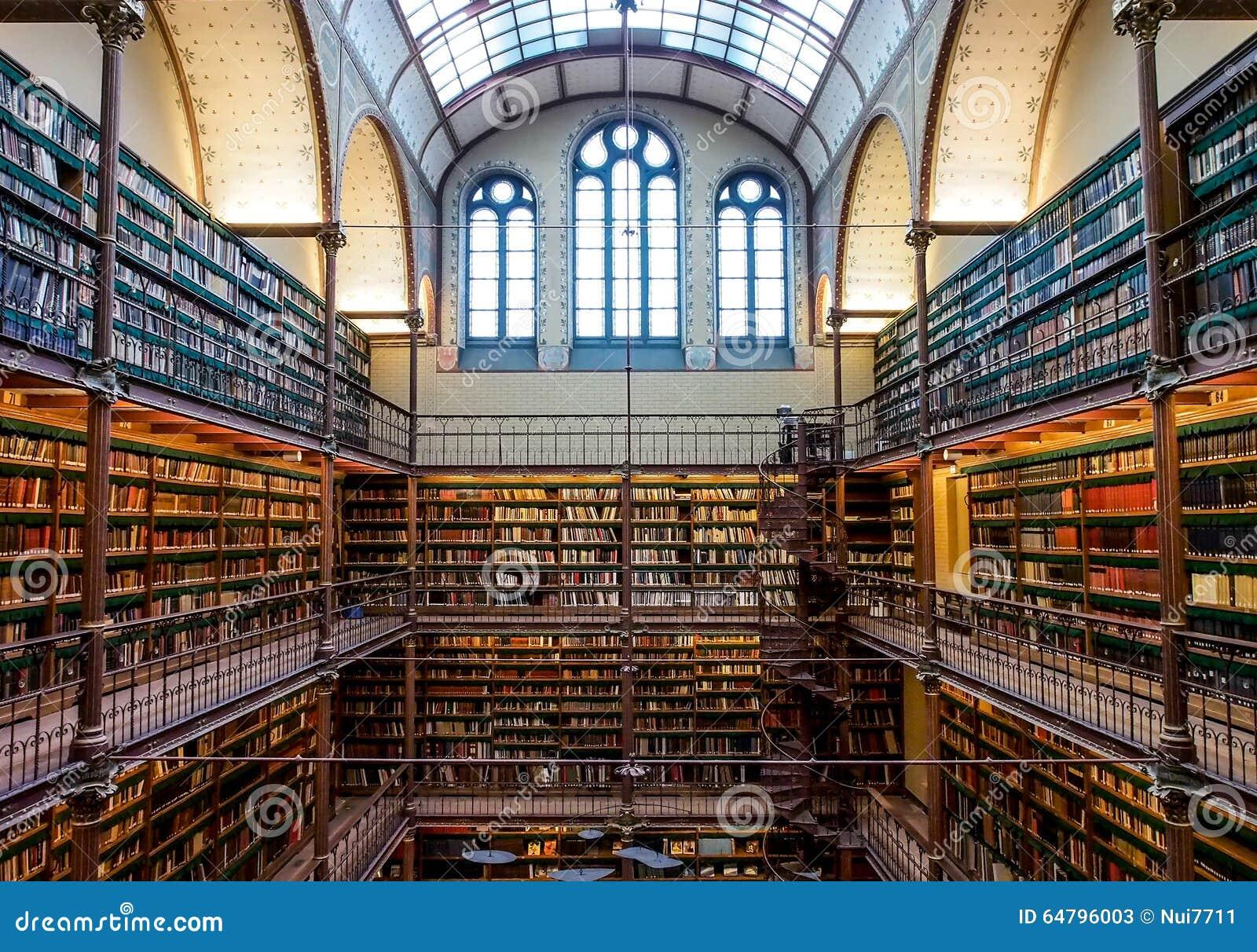 De oude bibliotheek van rijksmuseum amsterdam for Bibliotheek amsterdam