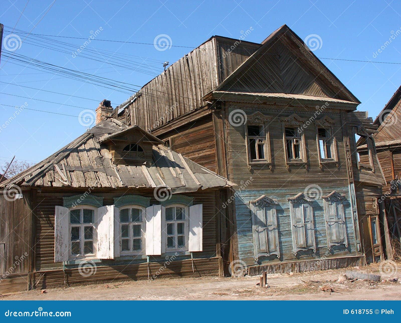 De oude bouw