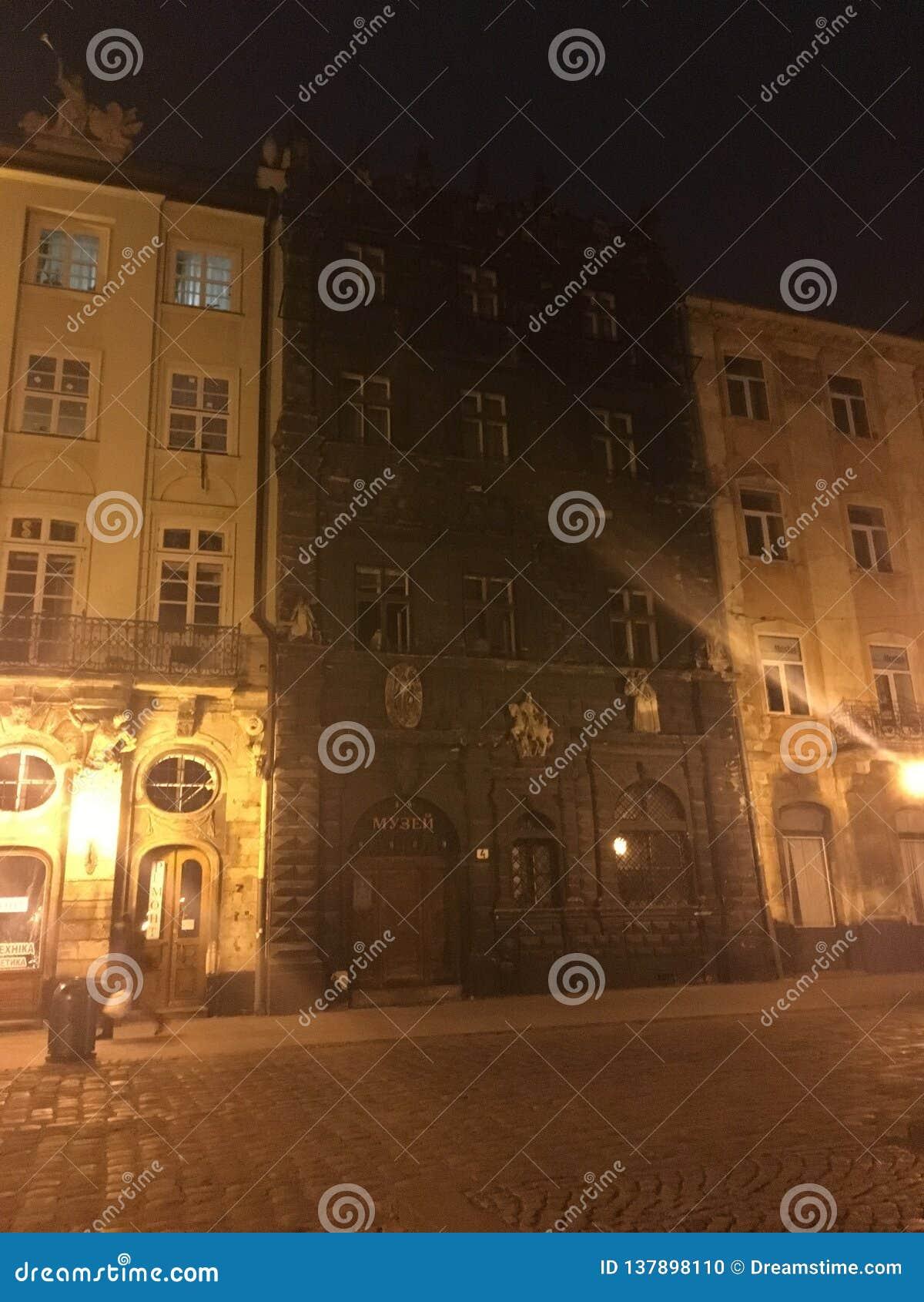 De oude bouw Lviv