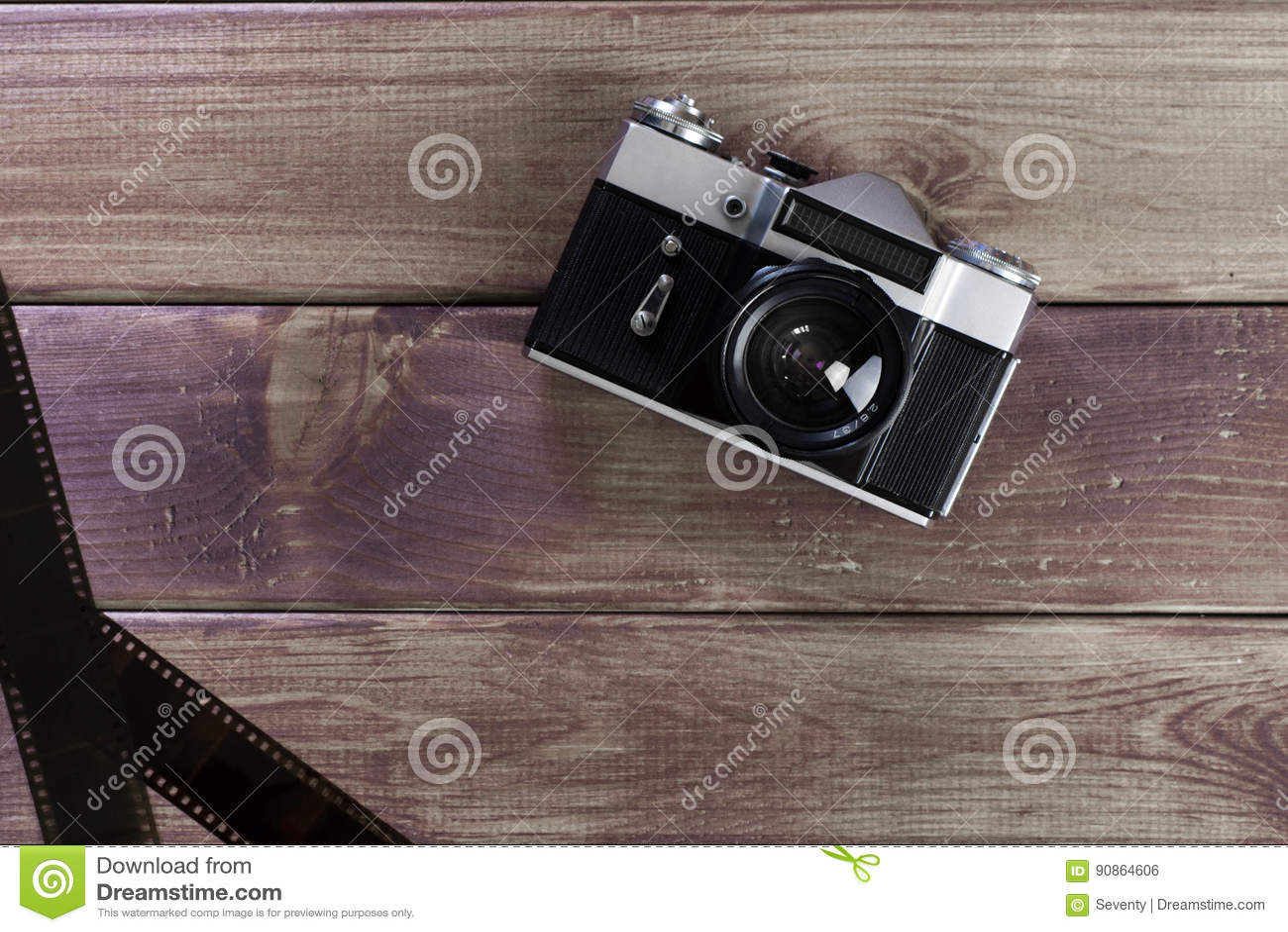De oude camera