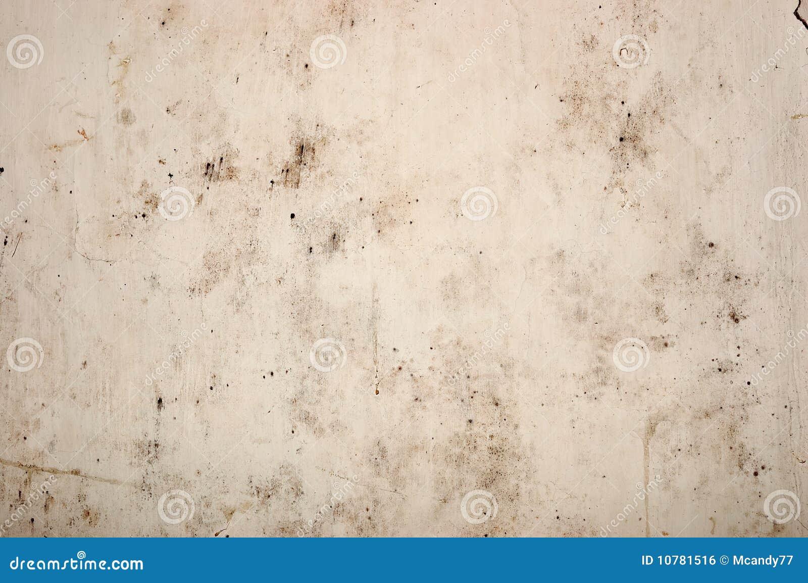 De oude gepelde muur