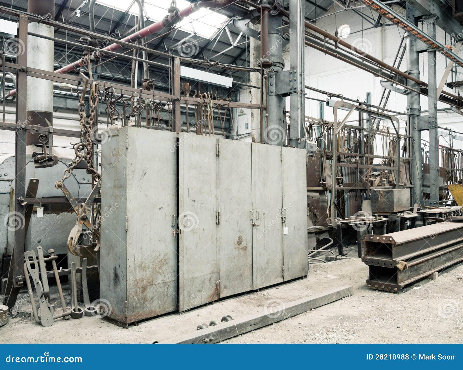 De Oude Kasten Van De Fabriek Royalty vrije Stock Foto u0026#39;s   Afbeelding  28210988