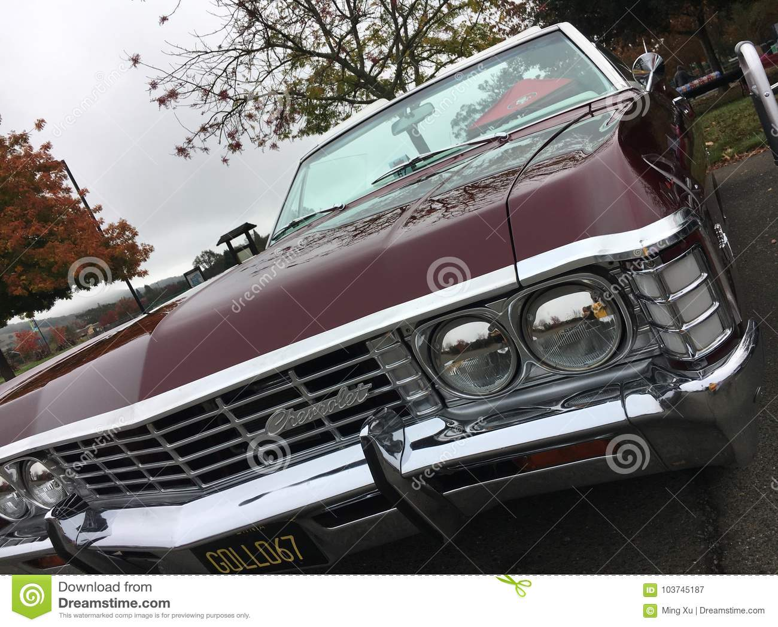 De oude klassieke auto van Amerika