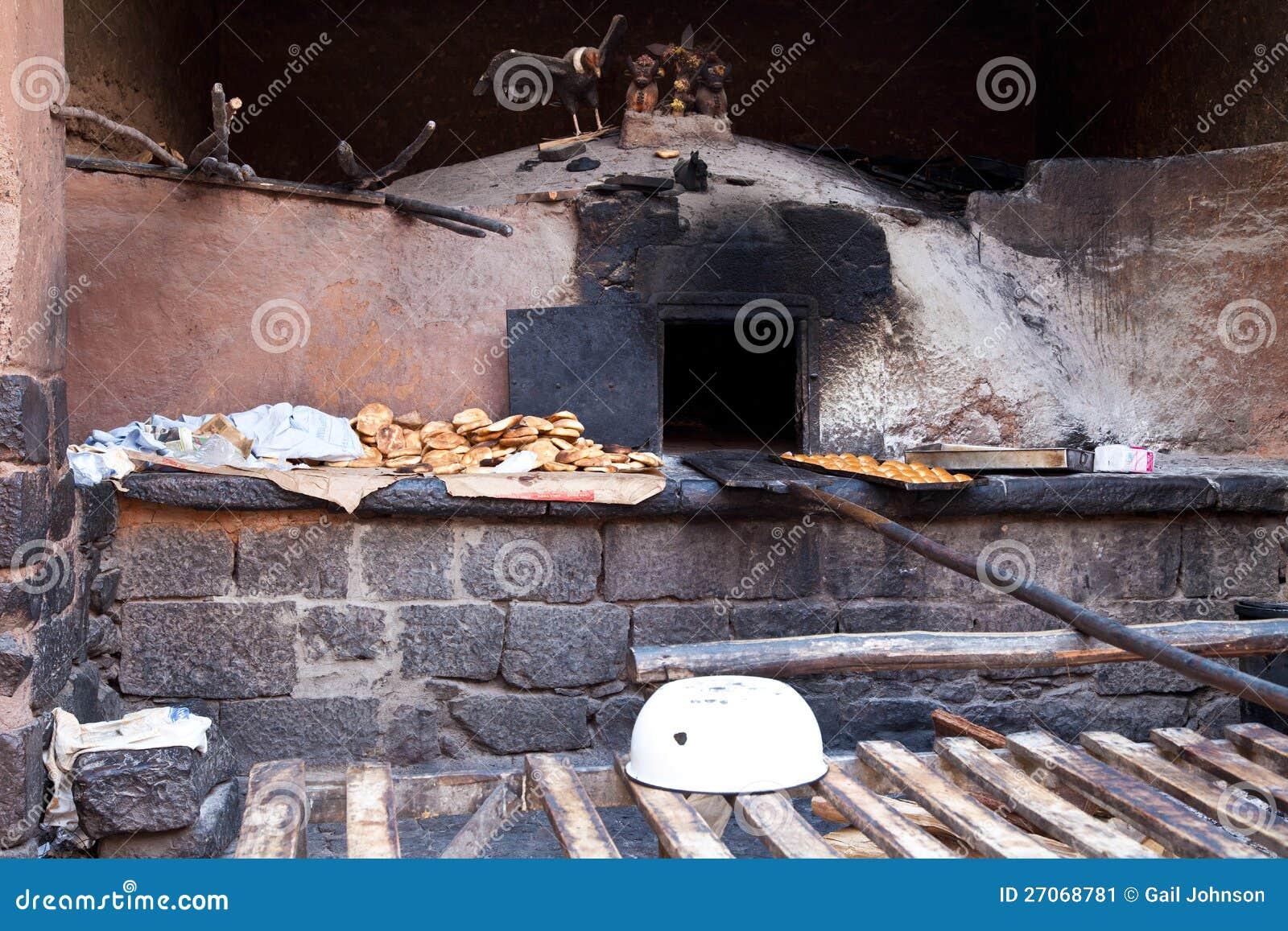 De oude Oven van het Brood