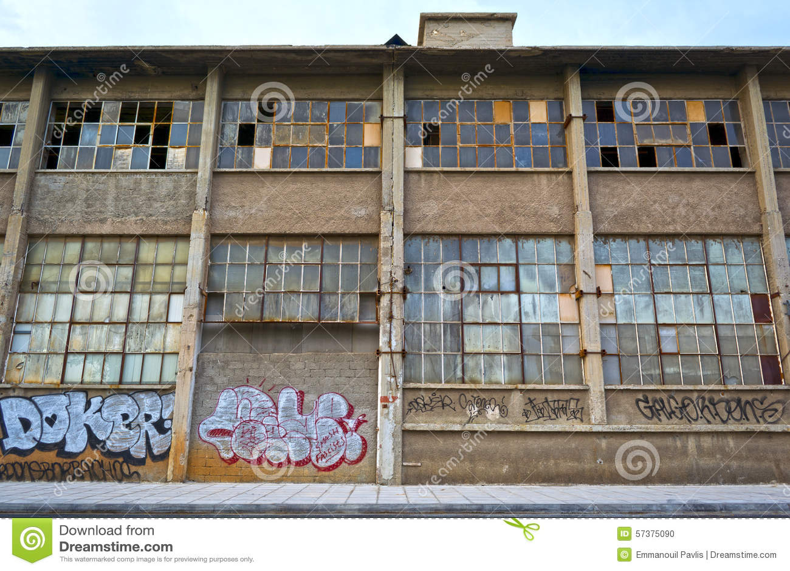 De oude pakhuisbouw
