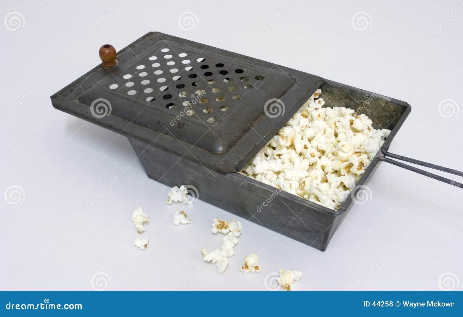 De oude Popcornpan van de Tijd