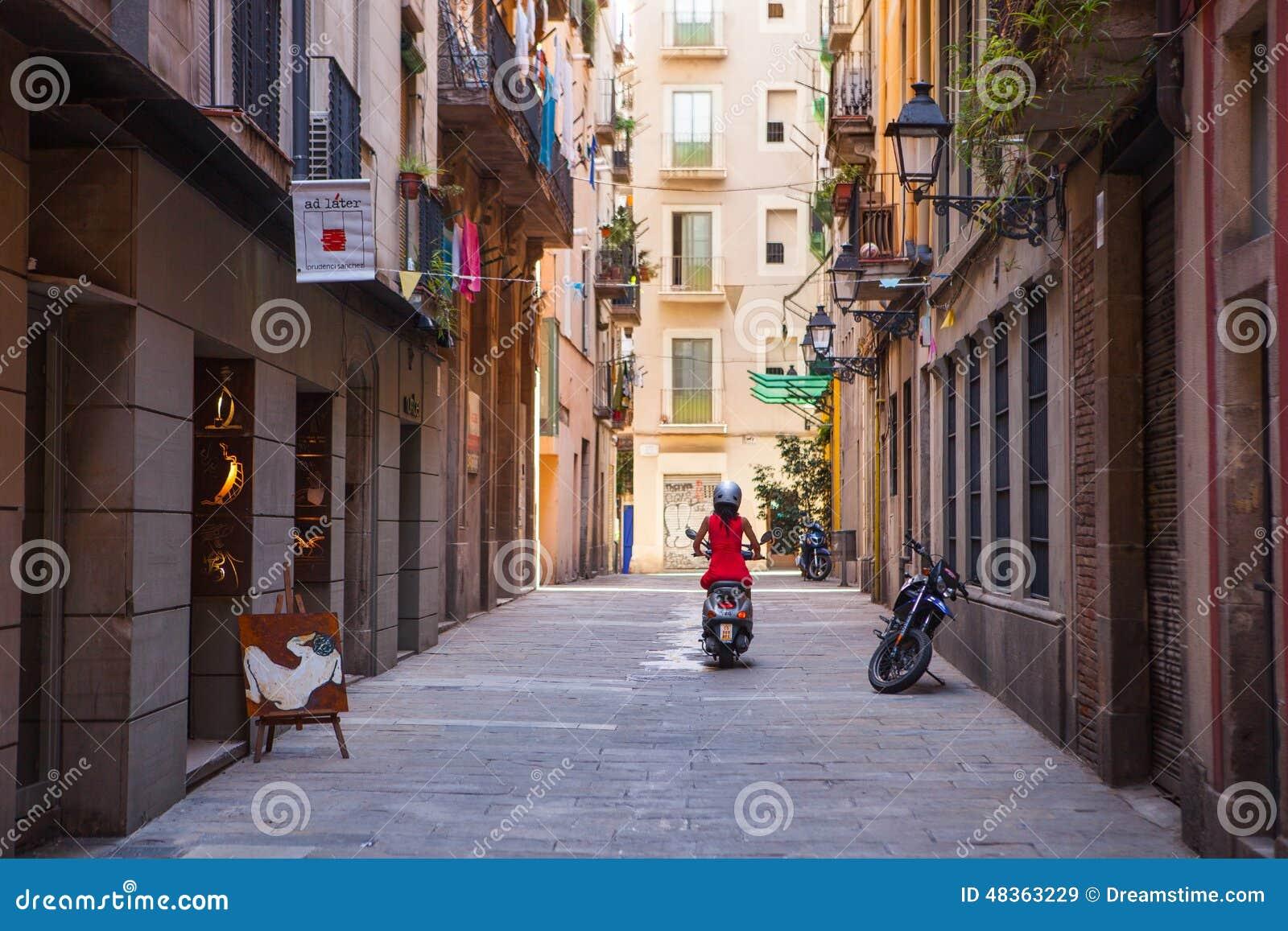 De oude stad van Barcelona