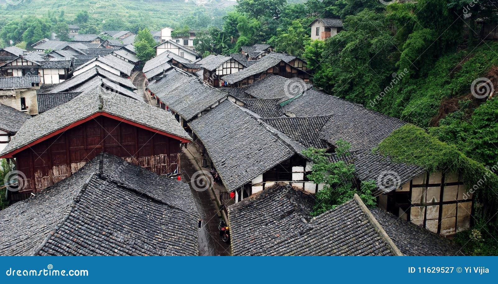 De oude stad van China